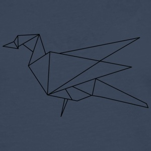 origami bird - Men's Premium Longsleeve Shirt
