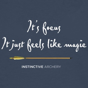 Archery? It's focus - It just feels like magic - Men's Premium Longsleeve Shirt