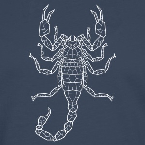 Scorpion white - Men's Premium Longsleeve Shirt