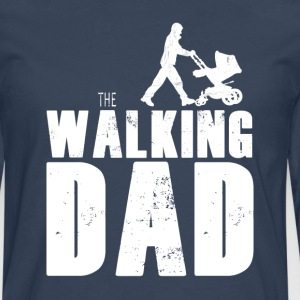 The Walking Far - Herre premium T-shirt med lange ærmer