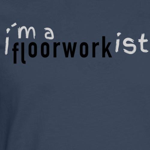 FloorWork <3 By TheRawburt - Långärmad premium-T-shirt herr