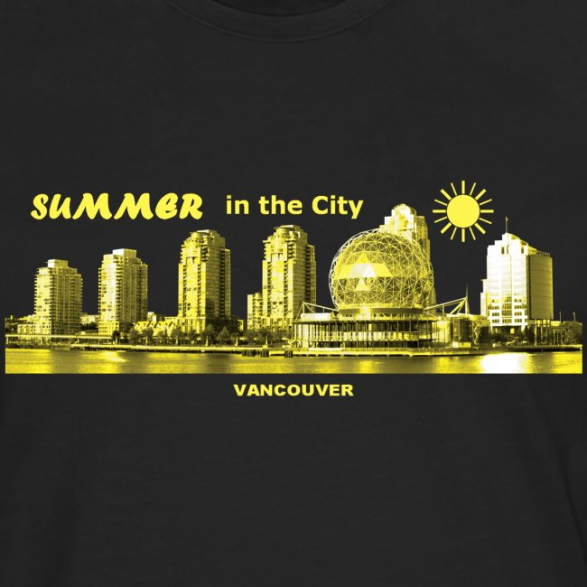 Summer in the City Vancouver Canada