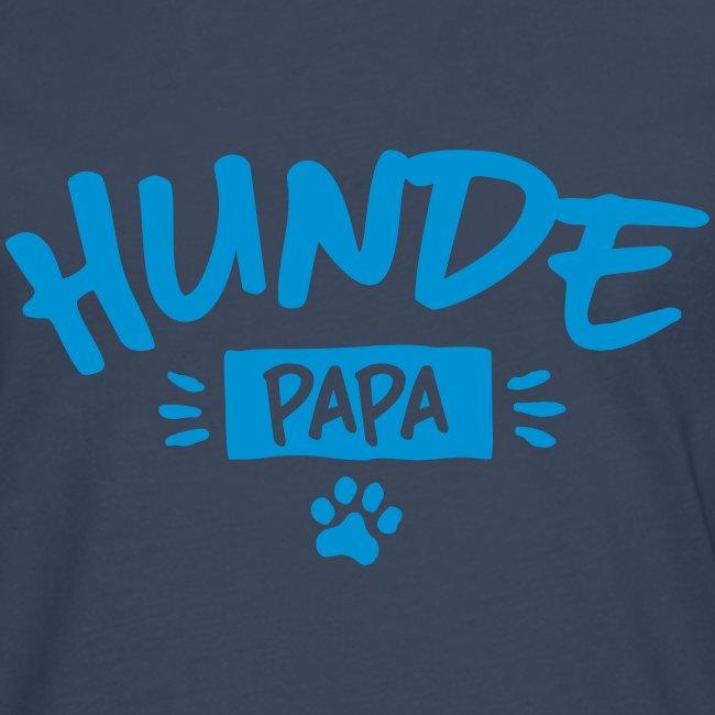 Vorschau: Hunde Papa - Männer Premium Langarmshirt