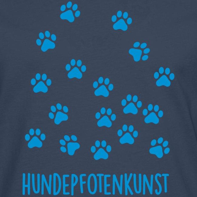 Vorschau: Hundepfotenkunst - Männer Premium Langarmshirt