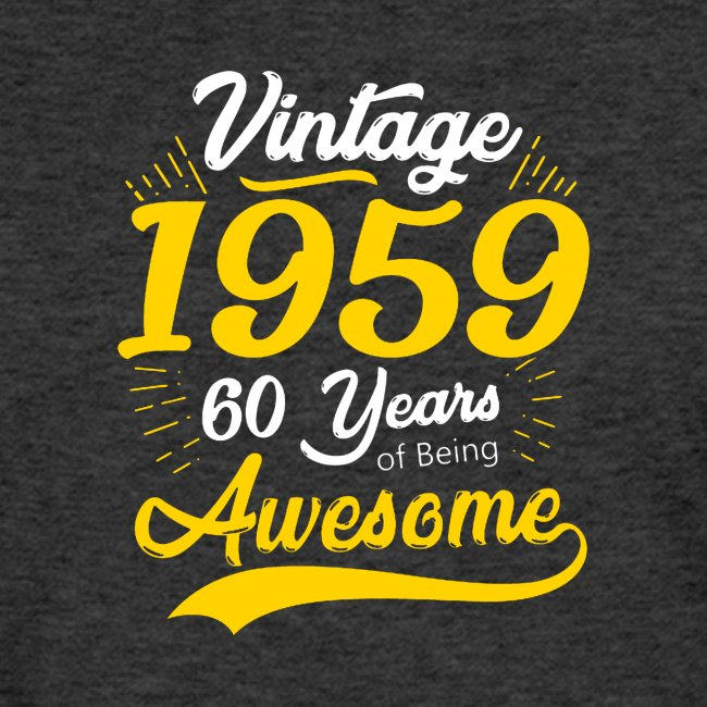 Vintage 1959 60th Birthday