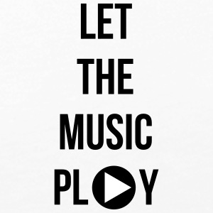 Let the music play - Vrouwen Premium shirt met lange mouwen