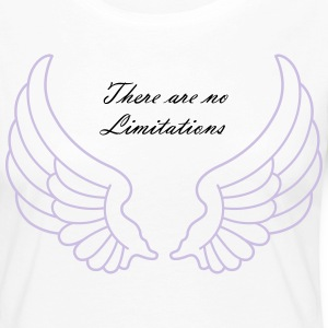There are no Limitations - Vrouwen Premium shirt met lange mouwen