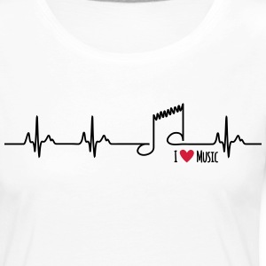I love music - Women's Premium Longsleeve Shirt