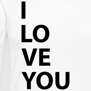 i love you - T-shirt manches longues Premium Femme