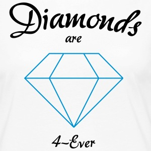 Diamonds are 4-Ever - Women's Premium Longsleeve Shirt