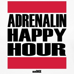 Adrenalin Happy Hour - Premium langermet T-skjorte for kvinner