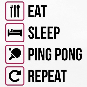 Eat Sleep Ping Pong Repeat - table tennis - Women's Premium Longsleeve Shirt