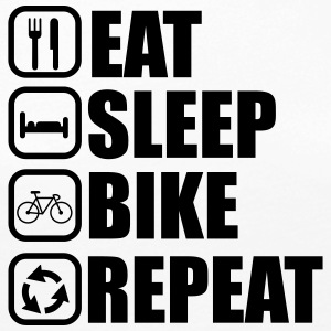 Eat sleep bike - Bicycle - Women's Premium Longsleeve Shirt