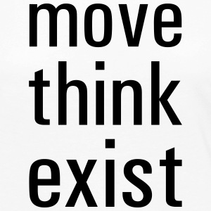 move think exist - Frauen Premium Langarmshirt