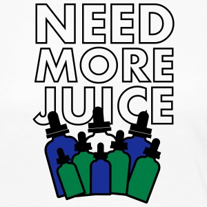 Need More Juice - Dempfer Shirt - Frauen Premium Langarmshirt