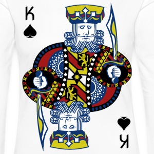 King of Spades Poker Hold'em - Frauen Premium Langarmshirt