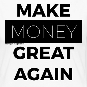 MAKE MONEY GREAT AGAIN black - Women's Premium Longsleeve Shirt