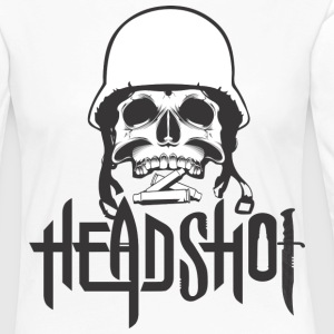 TOTAL HEAD / HEADSHOT / ROCK N ROLL T-SHIRT - Women's Premium Longsleeve Shirt