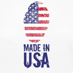 Made in USA / Made in USA Amérique - T-shirt manches longues Premium Femme