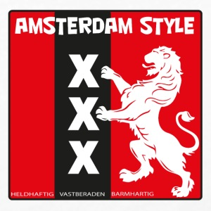 Amsterdam Style 2 - T-shirt manches longues Premium Femme