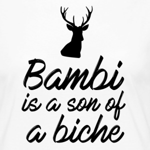 Bambi is a son of a biche - T-shirt manches longues Premium Femme