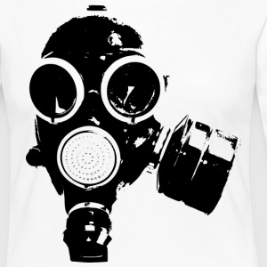 GAS MASK / ROCK N ROLL T-SHIRT - Camiseta de manga larga premium mujer