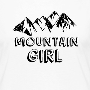 Mountain girl - Women's Premium Longsleeve Shirt