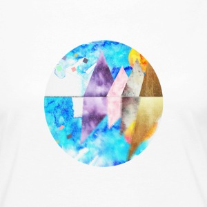 water color landscape - Women's Premium Longsleeve Shirt