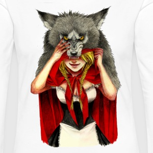 Little Red Riding Hood - Camiseta de manga larga premium mujer