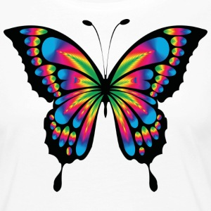 Multicolor psychedelic butterfly - Women's Premium Longsleeve Shirt