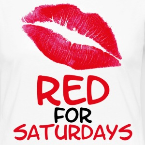 Red for saturdays - Camiseta de manga larga premium mujer
