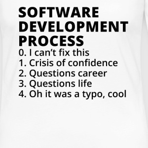 Software Development Process - Frauen Premium Langarmshirt