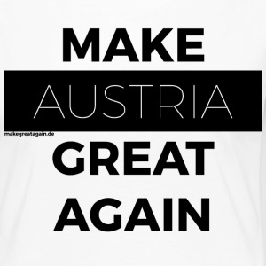 MAKE AUSTRIA GREAT AGAIN black - Women's Premium Longsleeve Shirt