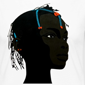african girl 2 - T-shirt manches longues Premium Femme