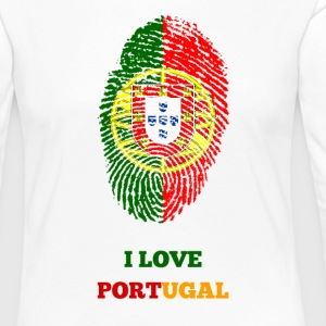 I LOVE PORTUGAL - Women's Premium Longsleeve Shirt