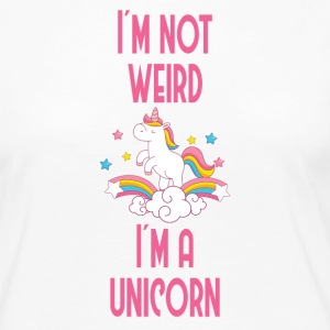 I'm not weird, I'ma unicorn - Women's Premium Longsleeve Shirt