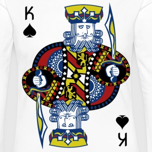 King of Spades Poker Hold'em - Långärmad premium-T-shirt dam