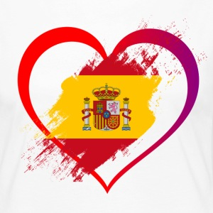 I LOVE SPAIN COLLECTION - Frauen Premium Langarmshirt