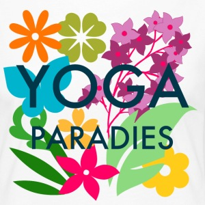 Yoga Paradise Shirt - Colorful Yoga Tee Shirt - Women's Premium Longsleeve Shirt