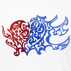 Tribal Heart Good And Evil Side - Frauen Premium Langarmshirt
