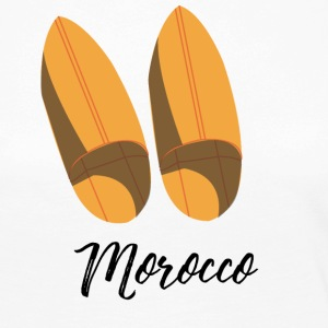 Moroccan traditional shoes - T-shirt manches longues Premium Femme