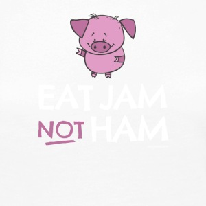 vs0086 4 eat jam not ham Pig - Women's Premium Longsleeve Shirt