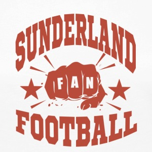 Sunderland Football Fan - T-shirt manches longues Premium Femme