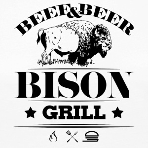Grill · Barbecue · Bison - Women's Premium Longsleeve Shirt
