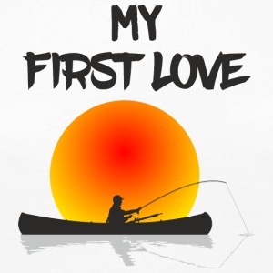 My First Love Fishing - Vrouwen Premium shirt met lange mouwen