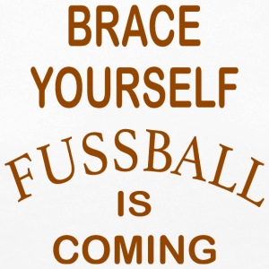 Brace Yourself Football Is Coming - Brown - T-shirt manches longues Premium Femme