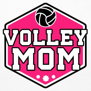 volleyboll Mom - Långärmad premium-T-shirt dam