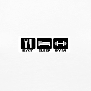 Eat Sleep Gym - Premium langermet T-skjorte for kvinner