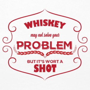 Whiskey - Whiskey may not solve your problem ... - Women's Premium Longsleeve Shirt