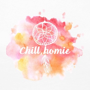 Hippie / Hippies: Chill Ho.mie - Dame premium T-shirt med lange ærmer